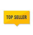 top seller price tag vector image vector image