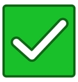 Valid Checkbox Toolbar Icon