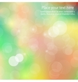 Abstract colors shining background vector image