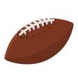 American football ball cartoon vector image vector image