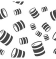 barrel seamless pattern vector image