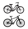 Bicycle Silhouette vector image vector image
