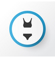 bikini icon symbol premium quality isolated vector image vector image