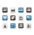 different kinds of toys icons vector image vector image