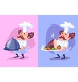 Funny cook character Isolated vector image vector image