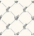 seamless geometric pattern with olive tree vector image vector image