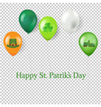 st patricks day postcard vector image