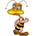 Walking Wasp vector image vector image