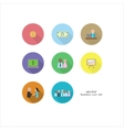 set of business thema with people and vector image