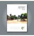 Cover Magazine design template Beautiful report