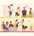 employment situations banners set vector image vector image