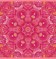 flower ethnic seamless design vector image vector image