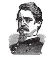 general winfield scott hancock vintage vector image vector image