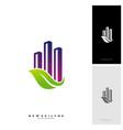 green city logo concepts symbol icon of vector image vector image