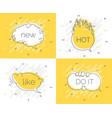 quick tips badge with speech bubble new brain do vector image vector image