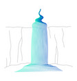 waterfall cascade vector image