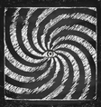 Vintage hypnotic poster vector image