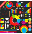 Infographics small vector image