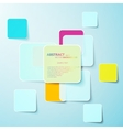 Colorful paper abstract background eps10 vector image