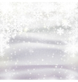 background for Christmas and winter holiday card vector image