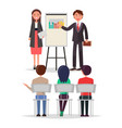 business meeting people set vector image vector image