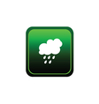 button of rain green vector image vector image