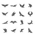 Eagle Icons Set vector image vector image
