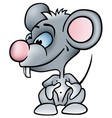 Little Mouse vector image vector image