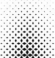 Monochrome rhombus shape pattern design background vector image vector image