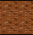 wall of the brick decorative tiles vector image