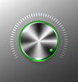 Volume button vector image