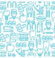 dentistry medicine dentist seamless pattern vector image
