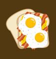 egg and bacon sandwich simple breakfast menu