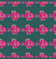 seamless fish patternfishes on blue pink and vector image