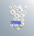 spring background 4 vector image vector image