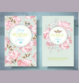 spring flower banners vector image vector image