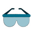 sunglasses fashion isolated vector image vector image