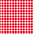 table cloth seamless pattern red in line vector image vector image