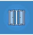 Window minimal icon vector image