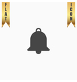 Bell Icon Symbol vector image