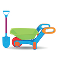 Childs outdoor toys vector image vector image