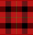 christmas new year tartan pattern scottish cage vector image vector image