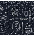 hipster style seamless pattern Sketches vector image vector image