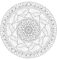Mandala Zentangle vector image vector image