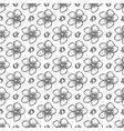 sakura seamless pattern of flowers vector image