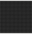 Seamless pattern gray polka dots vector image vector image