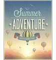 summer adventure vector image