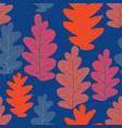 trend leaves pattern vector image vector image