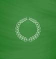 triumph wreath computer symbol vector image vector image