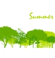 Abstract Summer Natural Background vector image